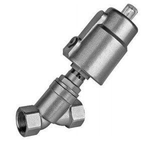 Угловой пневматический клапан. Cерия JF100 5fc5e6a08811d