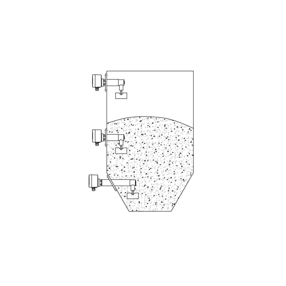 Ротационный сигнализатор уровня RN 3003 6080b0ffa652f