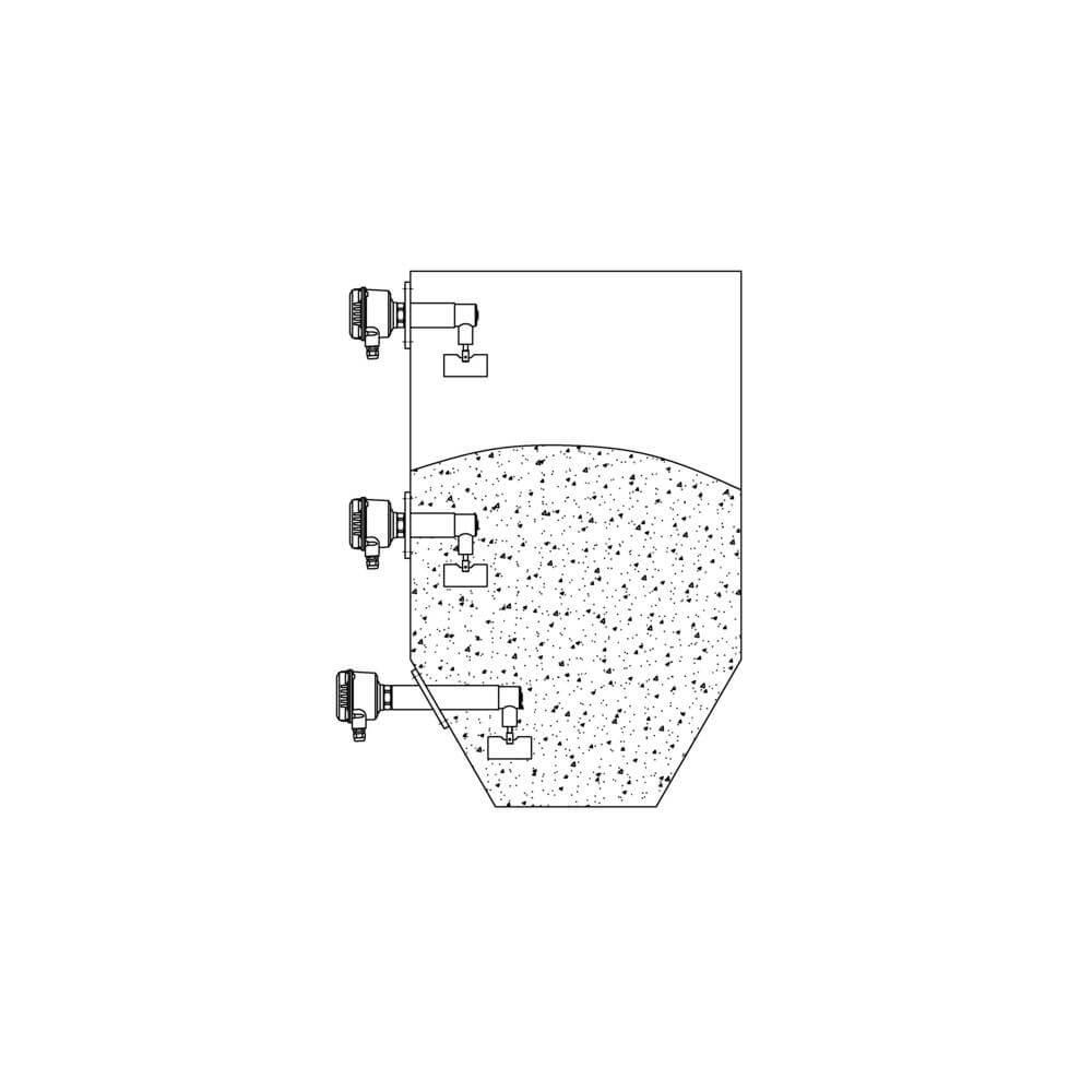 Ротационный сигнализатор уровня RN 6003 608405990875b